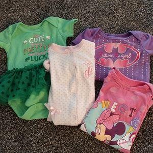 Cute infant girl bundle